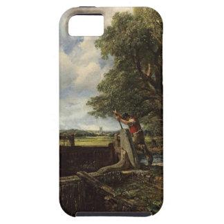 Funda Para iPhone SE/5/5s John Constable - la cerradura - paisaje del campo