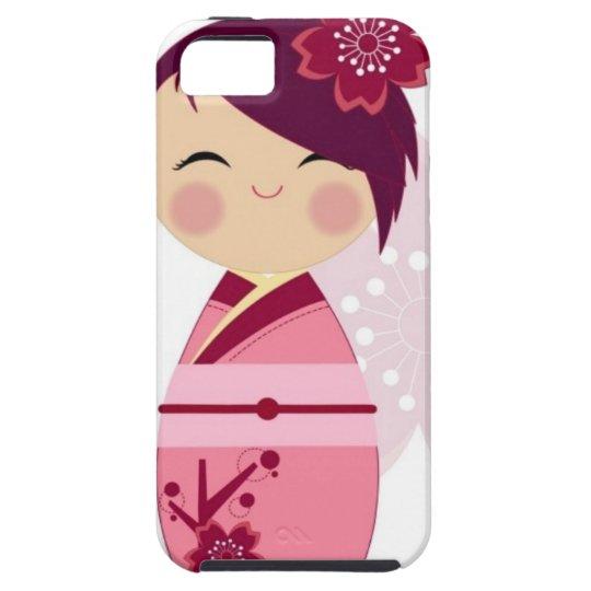 Funda Para iPhone SE/5/5s Kokeshi