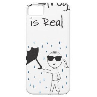 Funda Para iPhone SE/5/5s La lucha del fall del paraguas es real