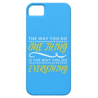 Funda Para iPhone SE/5/5s La manera usted hace TODO caja del teléfono