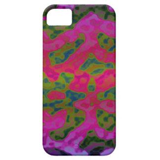 Funda Para iPhone SE/5/5s La tinta colorida fresca borra la caja de Iphone