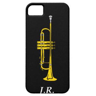 Funda Para iPhone SE/5/5s La trompeta del jazz añade su casamata Iphone4 de