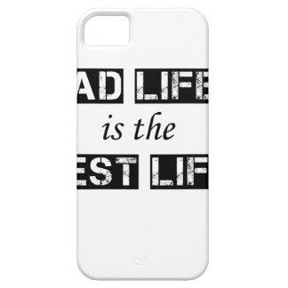 Funda Para iPhone SE/5/5s la vida del papá es la mejor vida