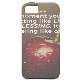 Funda Para iPhone SE/5/5s La vida es una bendición