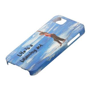 Funda Para iPhone SE/5/5s La vida es una caja del teléfono del ejercicio de