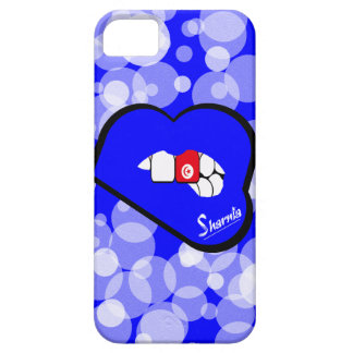 Funda Para iPhone SE/5/5s Labios azules de la caja del teléfono móvil de
