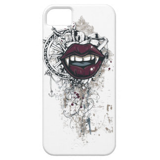 Funda Para iPhone SE/5/5s labios de Drácula del vintage