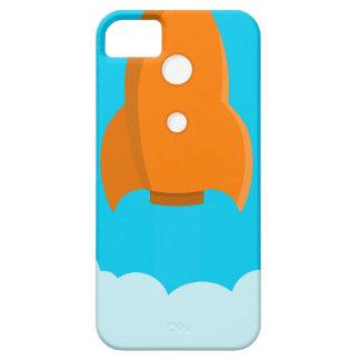Funda Para iPhone SE/5/5s Lanzamiento de la nave de Rocket