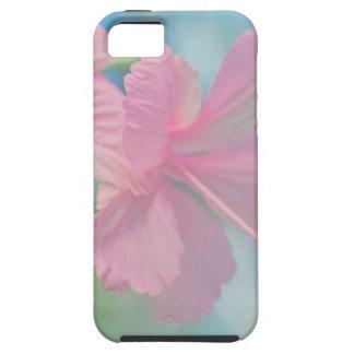 Funda Para iPhone SE/5/5s Lanzamiento macro blando de las flores rosadas del
