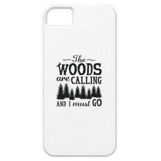 Funda Para iPhone SE/5/5s Las maderas están llamando