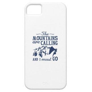 Funda Para iPhone SE/5/5s Las montañas están llamando