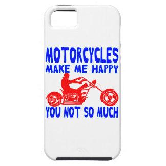 Funda Para iPhone SE/5/5s Las motocicletas le hacen me feliz no tanto
