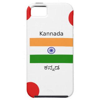 Funda Para iPhone SE/5/5s Lengua del Kannada y diseño indio de la bandera