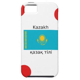 Funda Para iPhone SE/5/5s Lengua del Kazakh y diseño de la bandera de