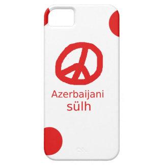Funda Para iPhone SE/5/5s Lengua y diseño azerbaiyanos del símbolo de paz