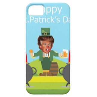 Funda Para iPhone SE/5/5s leprechaun de Donald Trump