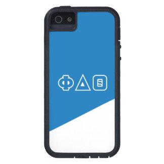 Funda Para iPhone SE/5/5s Letras del Griego de la theta el | del delta de la