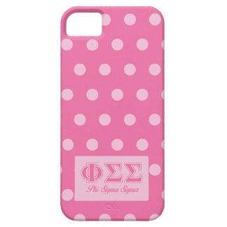 Funda Para iPhone SE/5/5s Letras del rosa de la sigma de la sigma de la phi