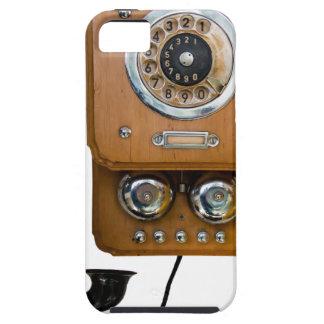 Funda Para iPhone SE/5/5s línea teléfono de la tierra del dial rotatorio del