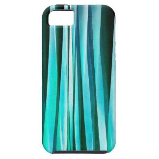Funda Para iPhone SE/5/5s Líneas rayadas modelo de la turquesa y del océano