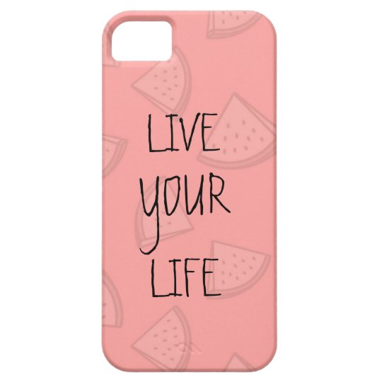 FUNDA PARA iPhone SE/5/5s LIVE YOUR LIFE