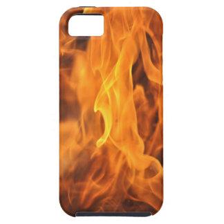 Funda Para iPhone SE/5/5s Llamas - demasiado calientes a dirigir