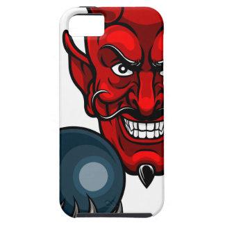 Funda Para iPhone SE/5/5s Los bolos del diablo se divierten la mascota
