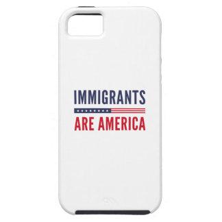 Funda Para iPhone SE/5/5s Los inmigrantes son América