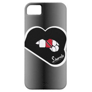 Funda Para iPhone SE/5/5s Los labios Trinidad de Sharnia y negro Lp de la