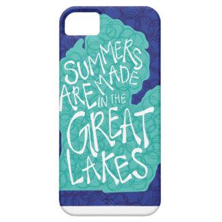Funda Para iPhone SE/5/5s Los veranos se hacen en los Great Lakes - azul