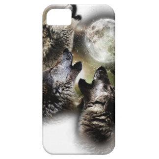 Funda Para iPhone SE/5/5s Luna de los lobos del grito