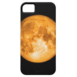 Funda Para iPhone SE/5/5s Luna Llena anaranjada