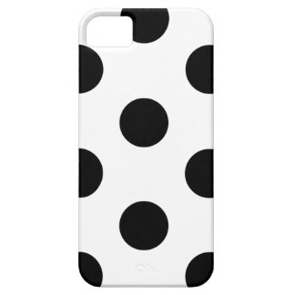 Funda Para iPhone SE/5/5s lunar del caso del iPhone 5/5S blanco y negro