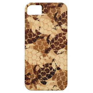 Funda Para iPhone SE/5/5s Madera de Koa de la hawaiana hawaiana de la