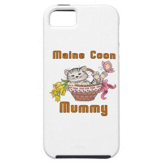 Funda Para iPhone SE/5/5s Mamá del gato de Coon de Maine