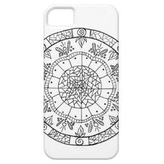 Funda Para iPhone SE/5/5s Mandala de la flor