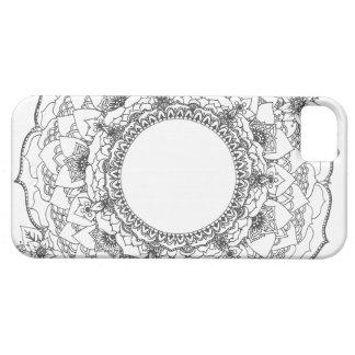 Funda Para iPhone SE/5/5s Mandala de la Luna Llena