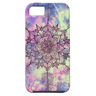 Funda Para iPhone SE/5/5s Mandala del árbol de la galaxia