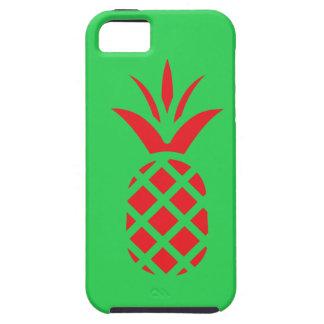 Funda Para iPhone SE/5/5s Manzana del pino rojo en verde