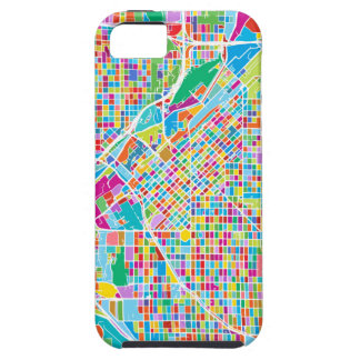 Funda Para iPhone SE/5/5s Mapa colorido de Denver