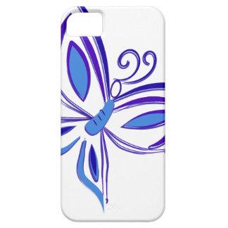 Funda Para iPhone SE/5/5s Mariposa azul