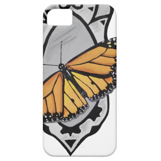 Funda Para iPhone SE/5/5s Mariposa del espejo