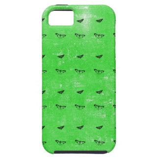 Funda Para iPhone SE/5/5s Mariposas verdes