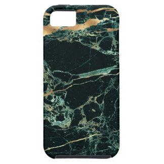 Funda Para iPhone SE/5/5s Mármol de PixDezines, verde del trullo + Venas del