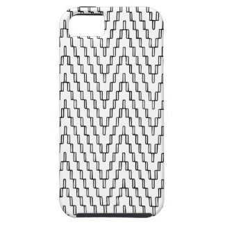 Funda Para iPhone SE/5/5s Materia textil indonesia ondulada abstracta