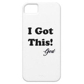 Funda Para iPhone SE/5/5s Mensaje de dios