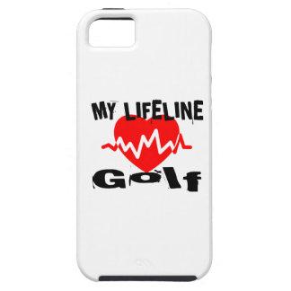 Funda Para iPhone SE/5/5s Mi línea de vida golf se divierte diseños