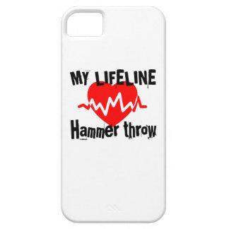 Funda Para iPhone SE/5/5s Mi línea de vida lanzamiento de martillo se