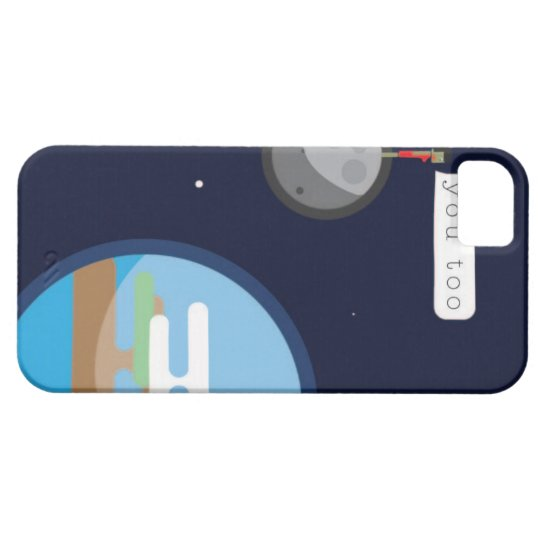 Funda Para iPhone SE/5/5s Miss you, you too!