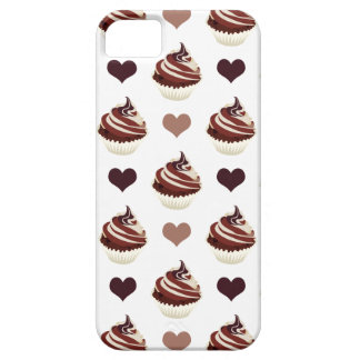 Funda Para iPhone SE/5/5s modelo de las magdalenas del chocolate